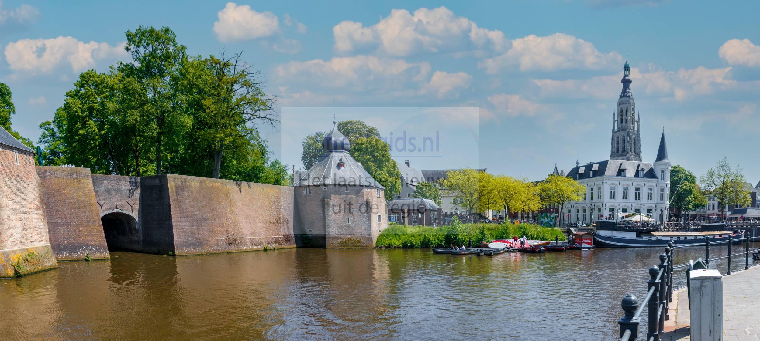 Breda: Spanjaardsgat en de grote kerk